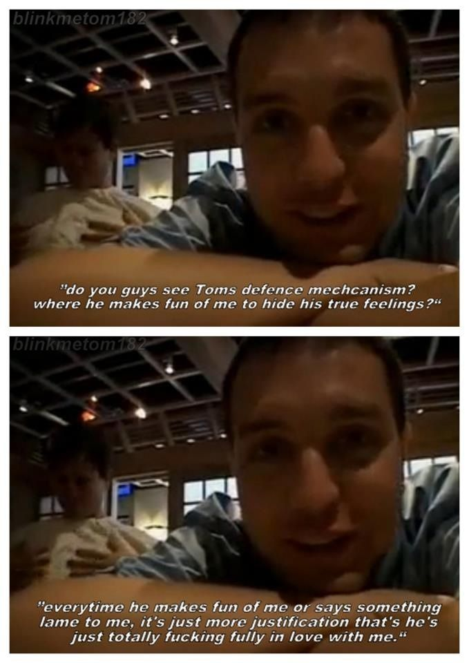 Mark Hoppus Quotes: Mark Hoppus & Tom Delonge Blink 182