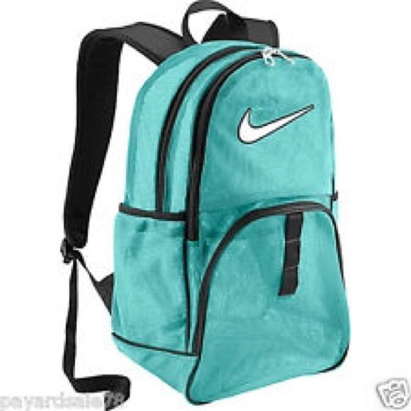 90653c11e278 Nike blue mesh backpack --NWOT New