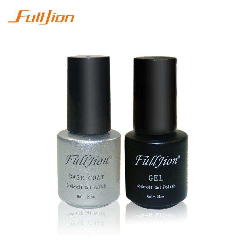 Fulljion Gel Nail Primer 7ml Top Coat Top It Off Base Coat Foundation For Uv Gel Polish Best On Ali New Style Nail Lacquer Unas De Gel Laca Unas