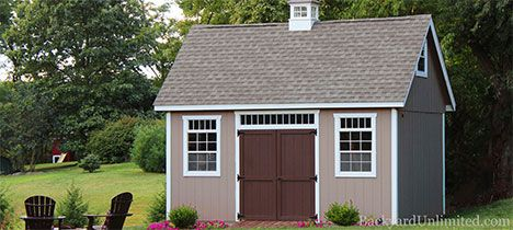 new england sheds