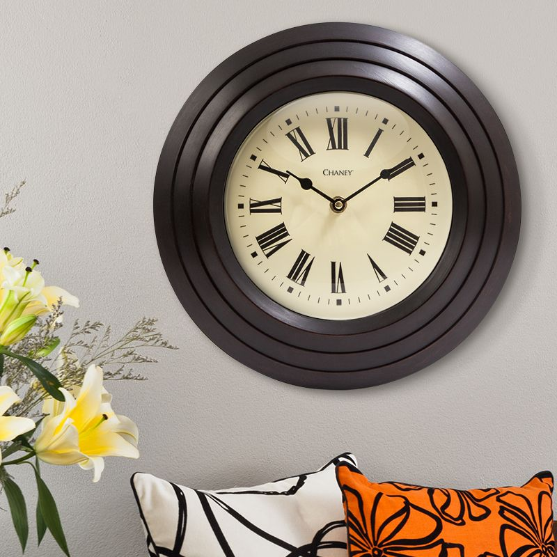 12 Inch Oil Rubbed Bronze Tiered Wall Clock Wall Clock Clock My Home Design