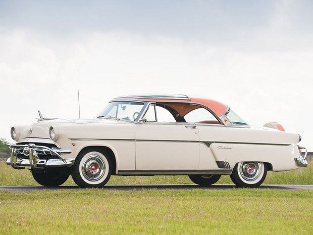 1954 Ford Crestline Skyliner Glass Roof Two Door Hardtop Ford Classic Cars American Classic Cars 1954 Ford