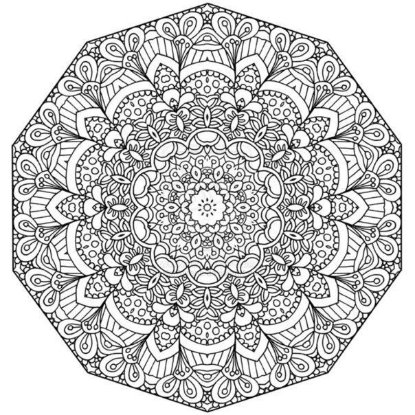 abstrakte-ausmalbilder-dekoking-com-4 | Häkeln | Pinterest ...