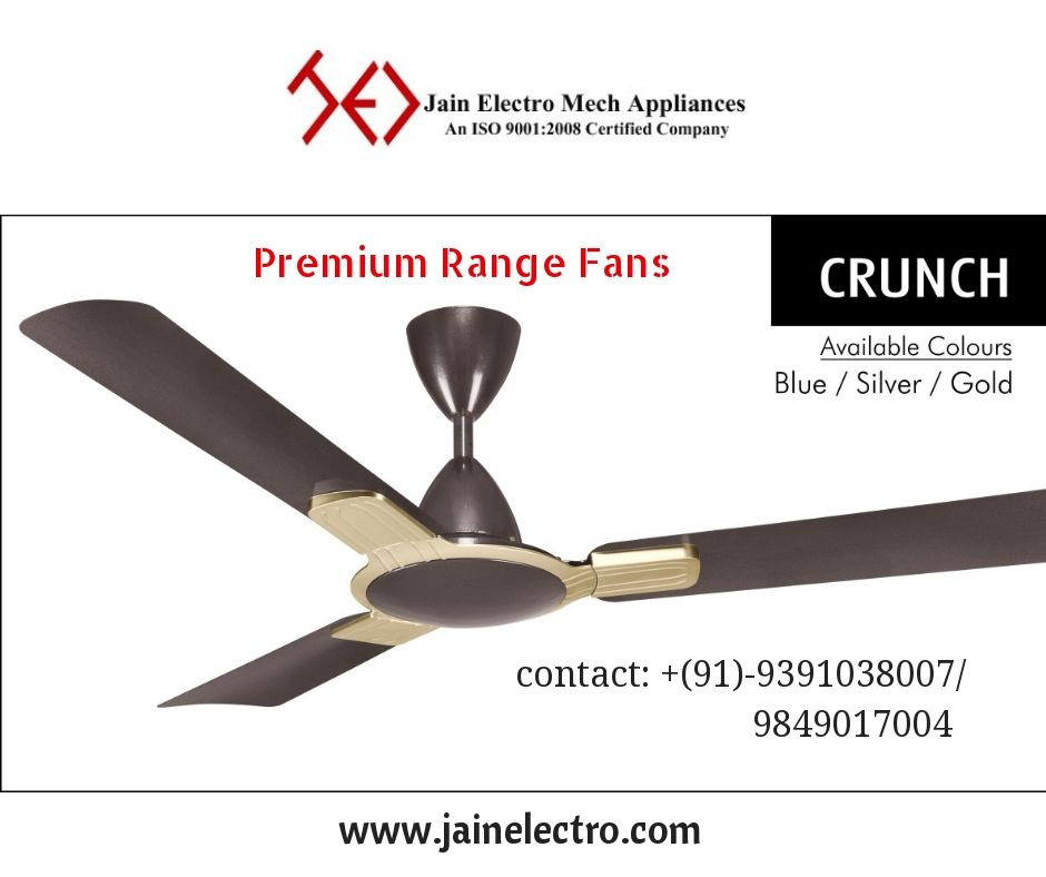Premium Range Ceiling Fans Manufacturers In Hyderabad With Images