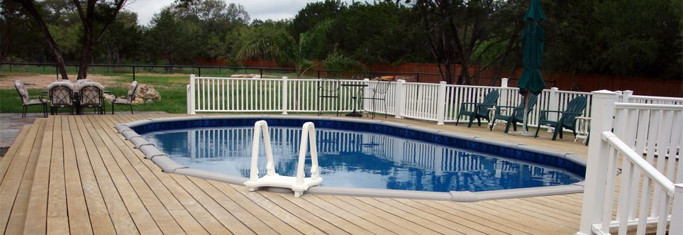 free pool deck plans | oval pools and custom decking visit our
