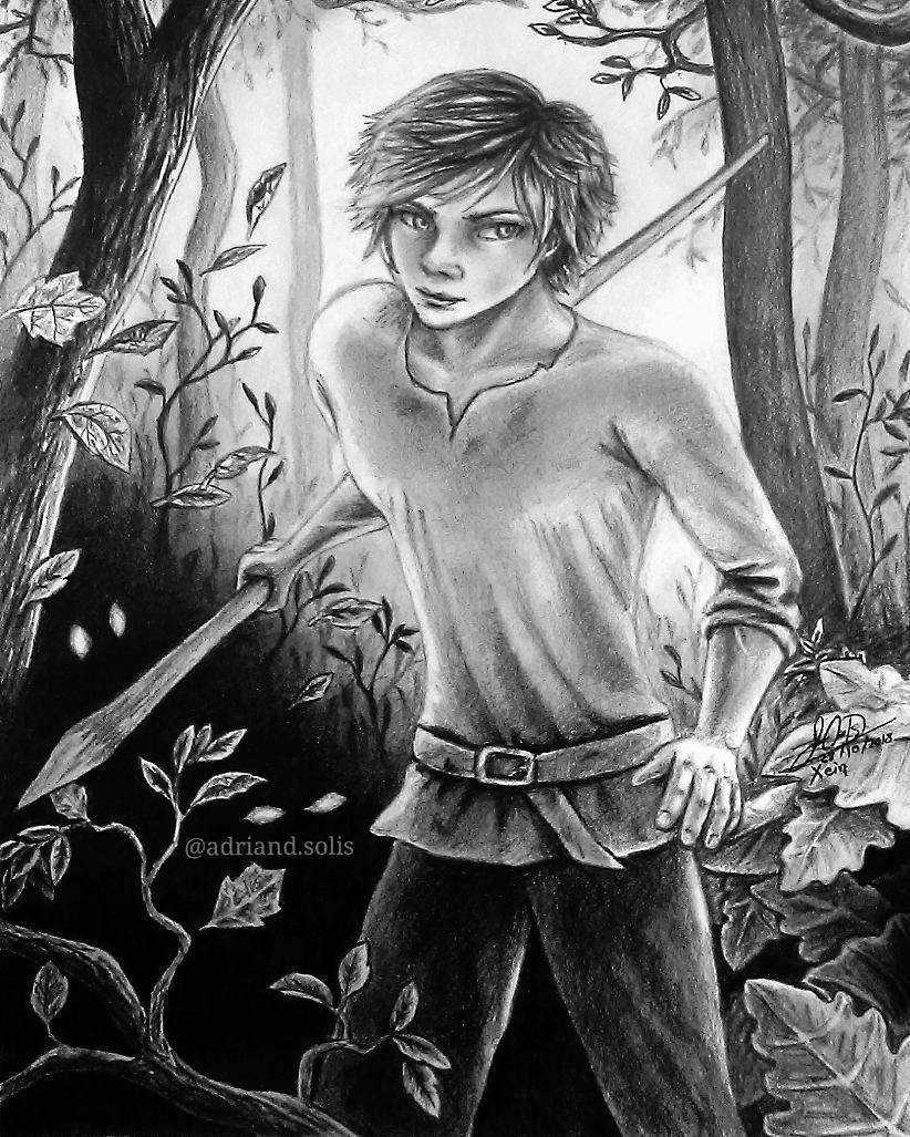 """Xein. Personaje del libro """"Guardianes de la Ciudadel"""