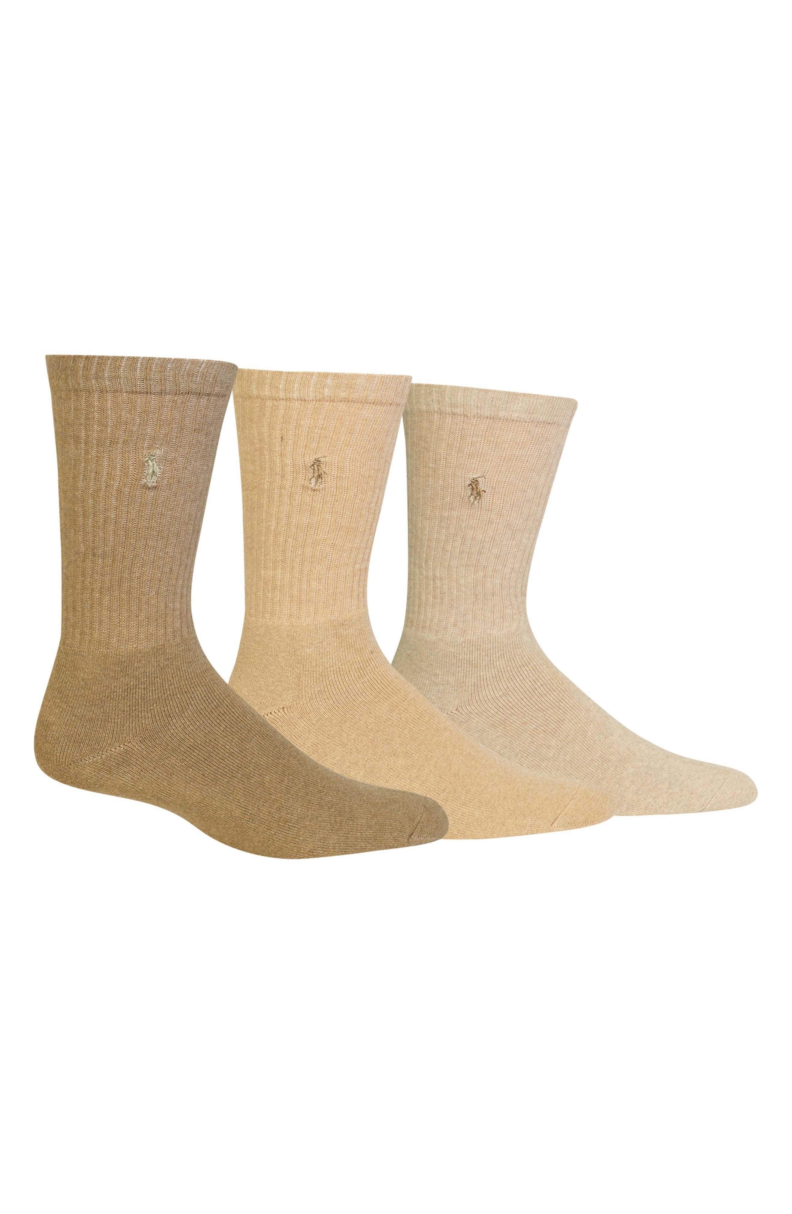 b4a7213a7ccd POLO RALPH LAUREN 3-PACK CREW SOCKS. #poloralphlauren #cloth | Polo ...