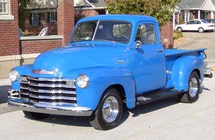 1953 Chevrolet Pickup Gmc Trucks From Around The World 1953 Chevy Pickup Truck Gmc Trucks Chevy Pickups Classic Pickup Trucks