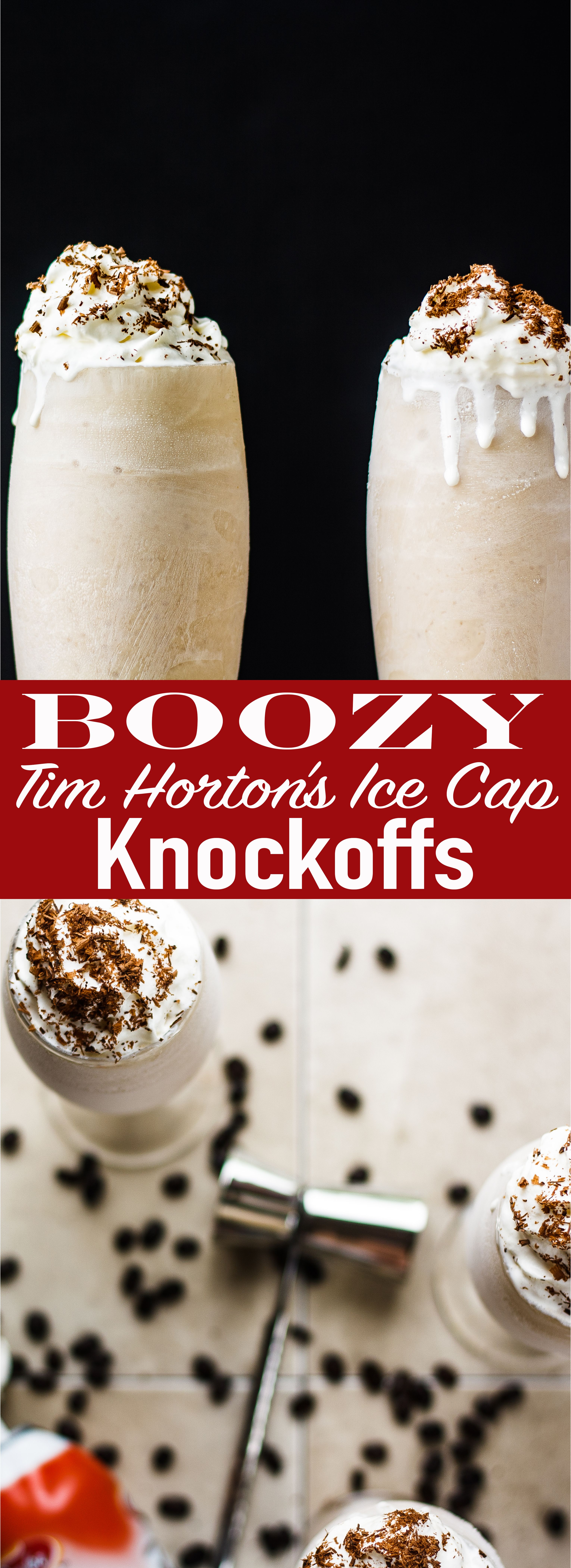Cool and refreshing these boozy tim hortons iced caps