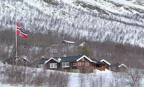 King Of Norway Summer Cabin Prinsehytta At Sikkilsdalen