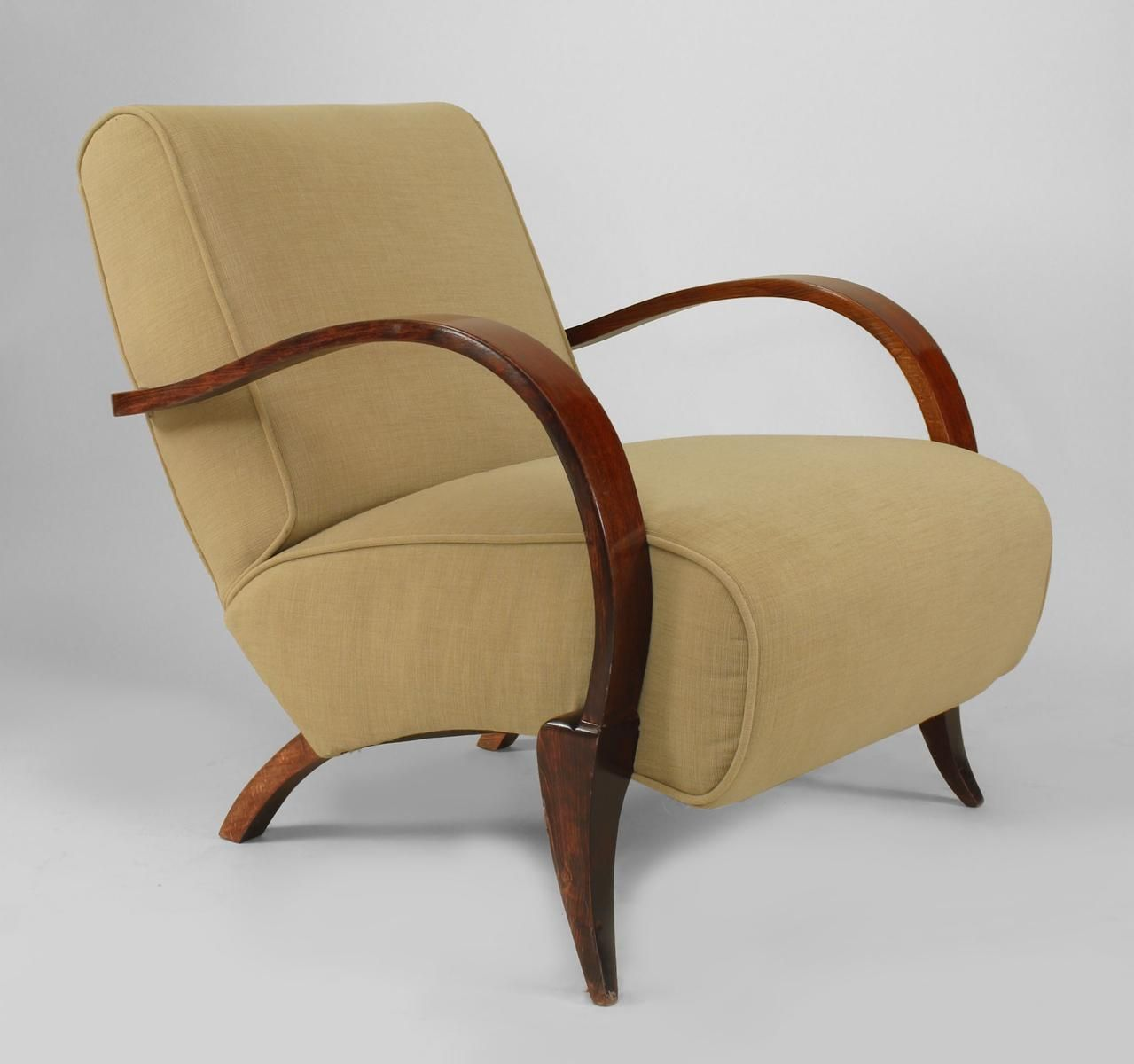 Art Deco French seating chairarm chairpair mahogany