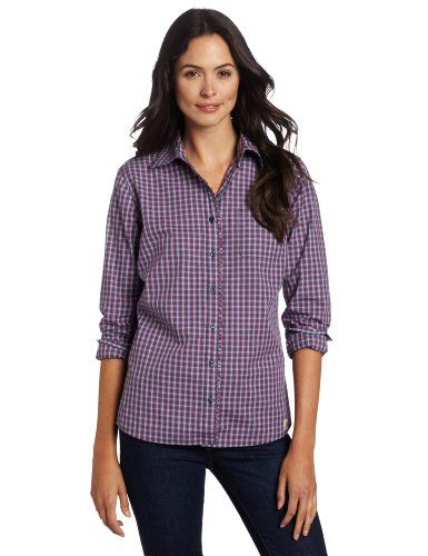 1d2e79db114643 Carhartt Womens Country Girl Plaid ShirtPatriot Blue CloseoutSmallRegular    You can find more details by visiting the image link.