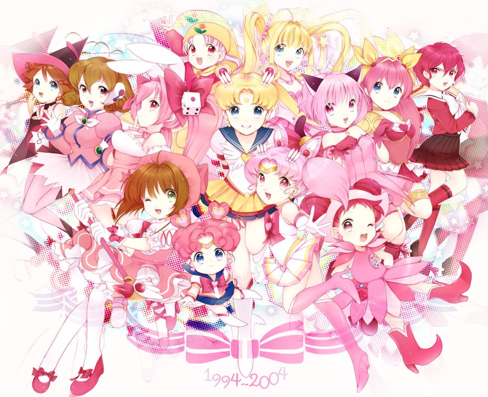 Magical Girls Fan Art 01 Magical Girl Anime Anime Magical Girl