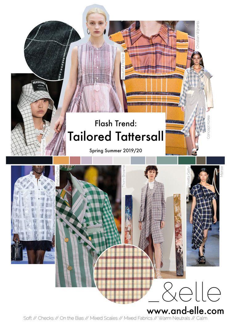 Trend Report SS19 Print Design Checks | Spring Summer 2019 ...