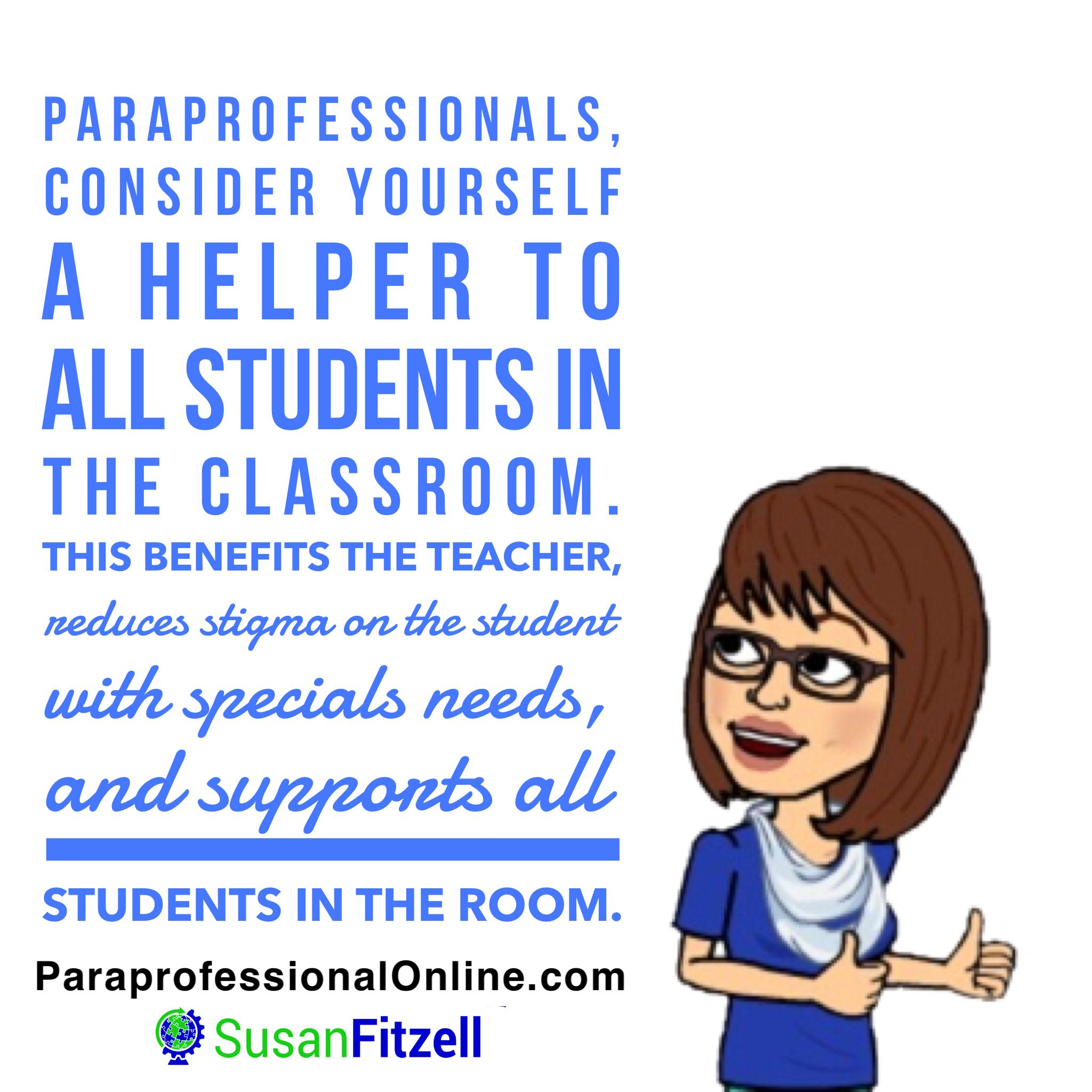 Success Tips For A Paraprofessional