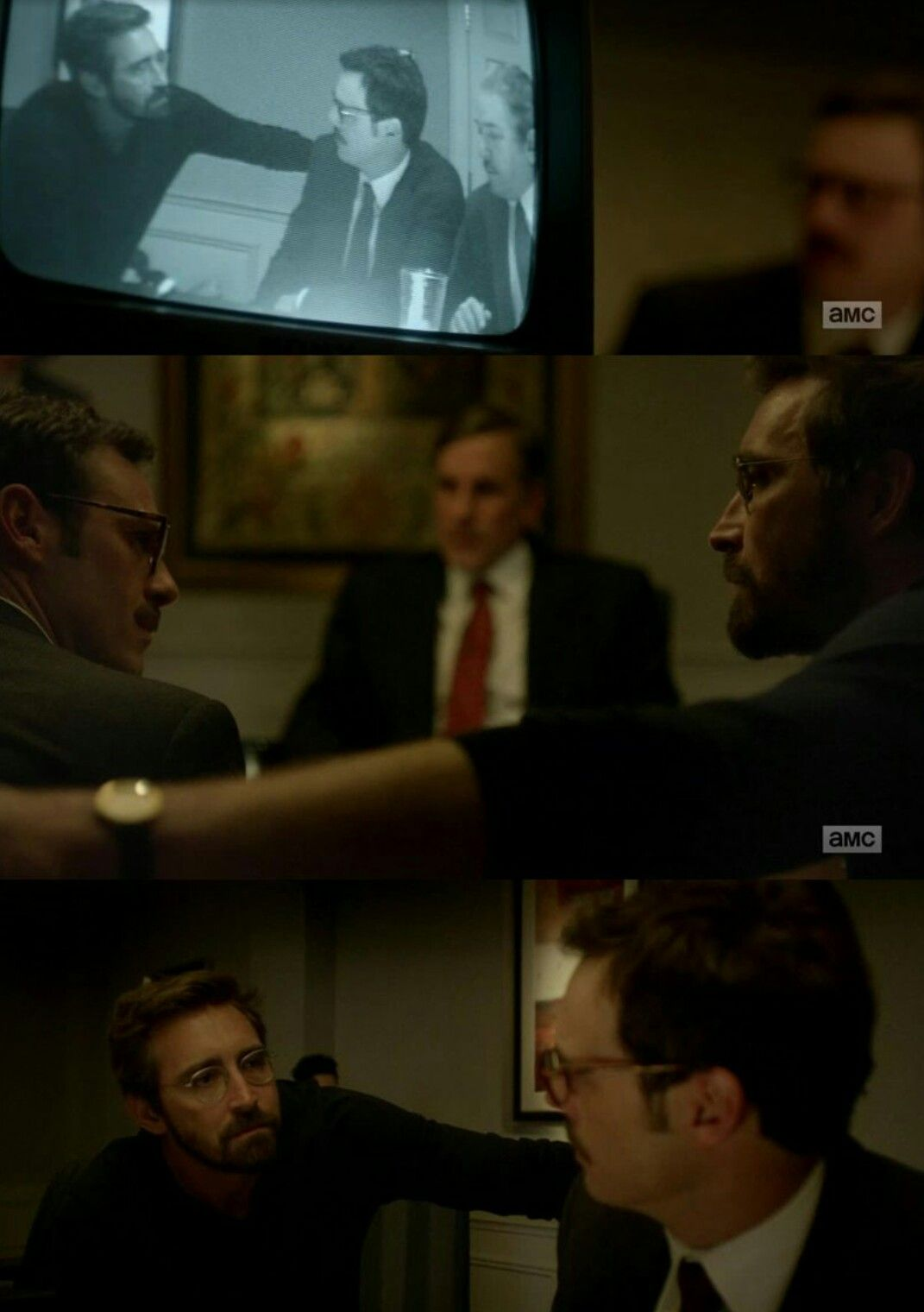 "Halt and Catch Fire ""One Way or Another"" (3x02) - Joe and Gordon"