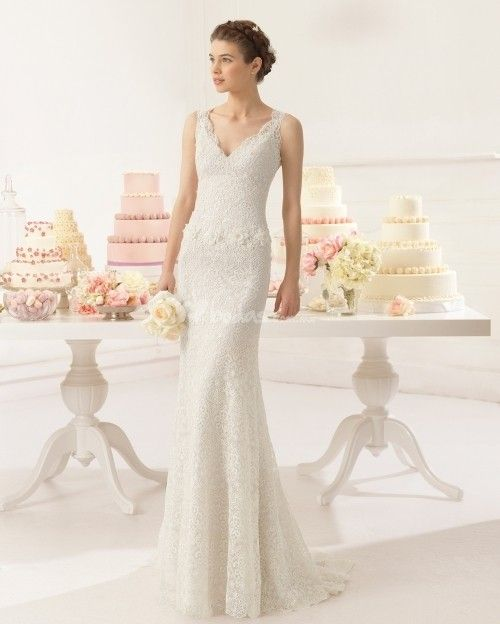 17 8c215 adeline, aire barcelona | vestidos novia | pinterest