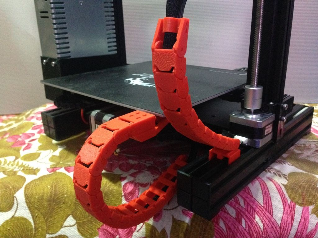 Ender 3 Cable Chain By Johnniewhiskey Thingiverse 3d Printing Diy 3d Printing Projects 3d Printing