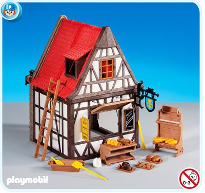 6219 Bäckerei-Fachwerkhaus Playmobil Pinterest - playmobil badezimmer 4285