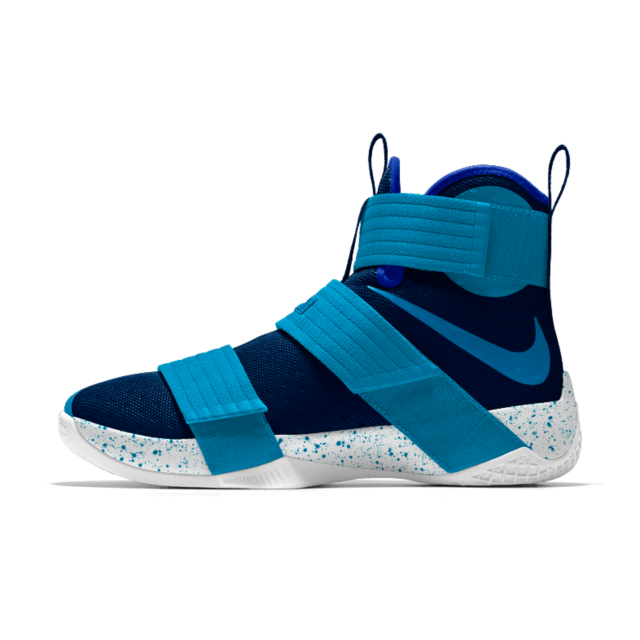 designer fashion 4cbf7 94fa2 Nike Zoom LeBron Soldier 10 iD Men s Basketball Shoe