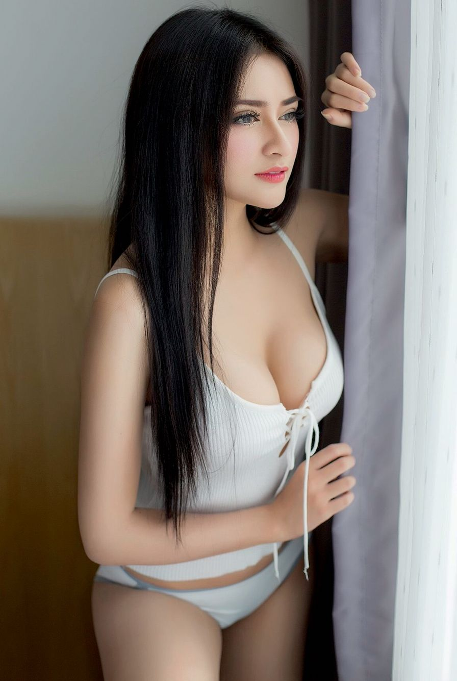 Indonesian hot photo models touching girl