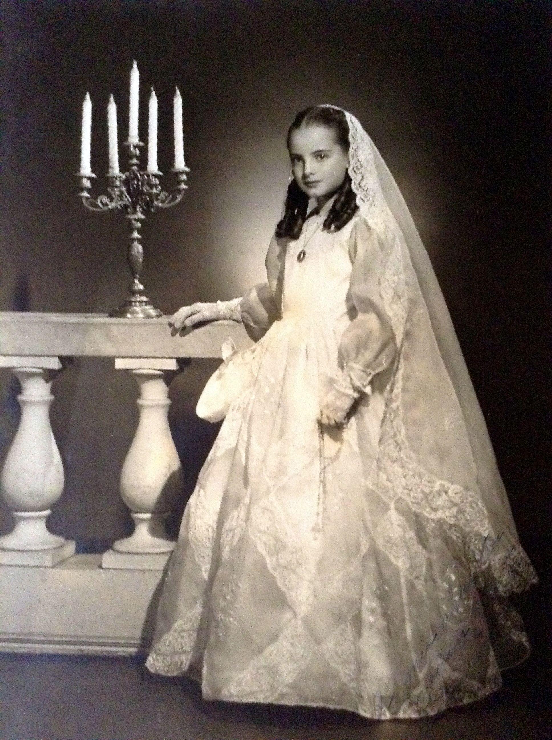 vestidos de primera comunion antiguos