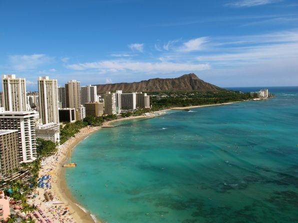 On location with Hawaii Five-0! Aerial shot...