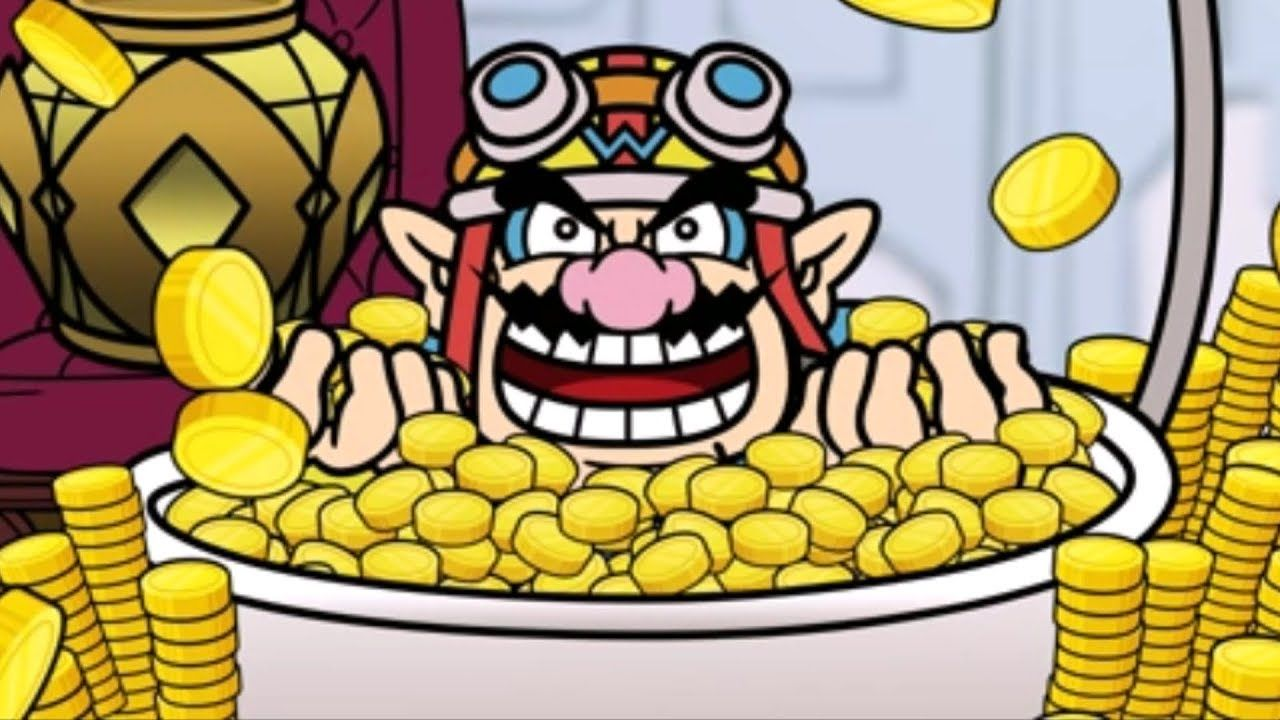 Image result for wario money