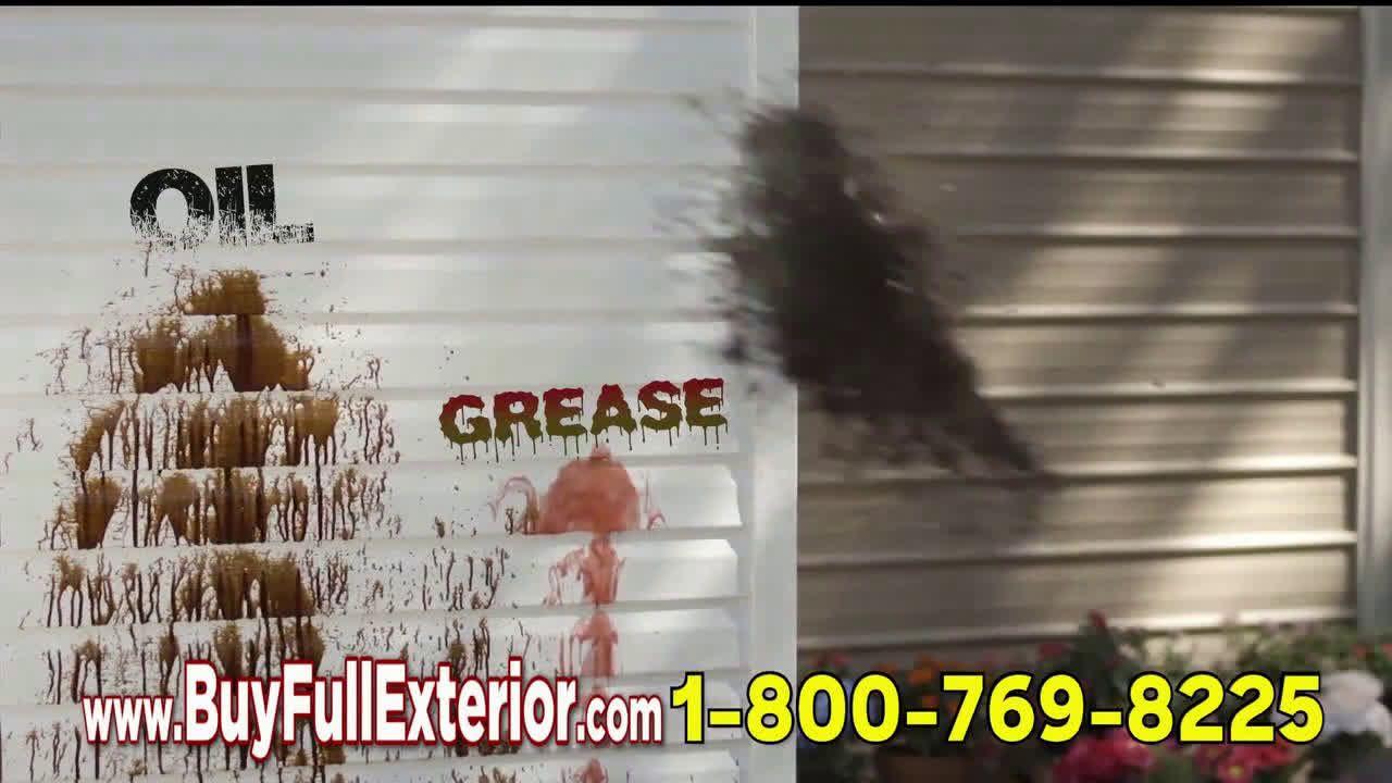 Fuller Brush Company Full Crystal Full Exterior Blast Stains Ad Commercial On Tv 2019 Fuller Brush Fuller Brush Company Tv Commercials