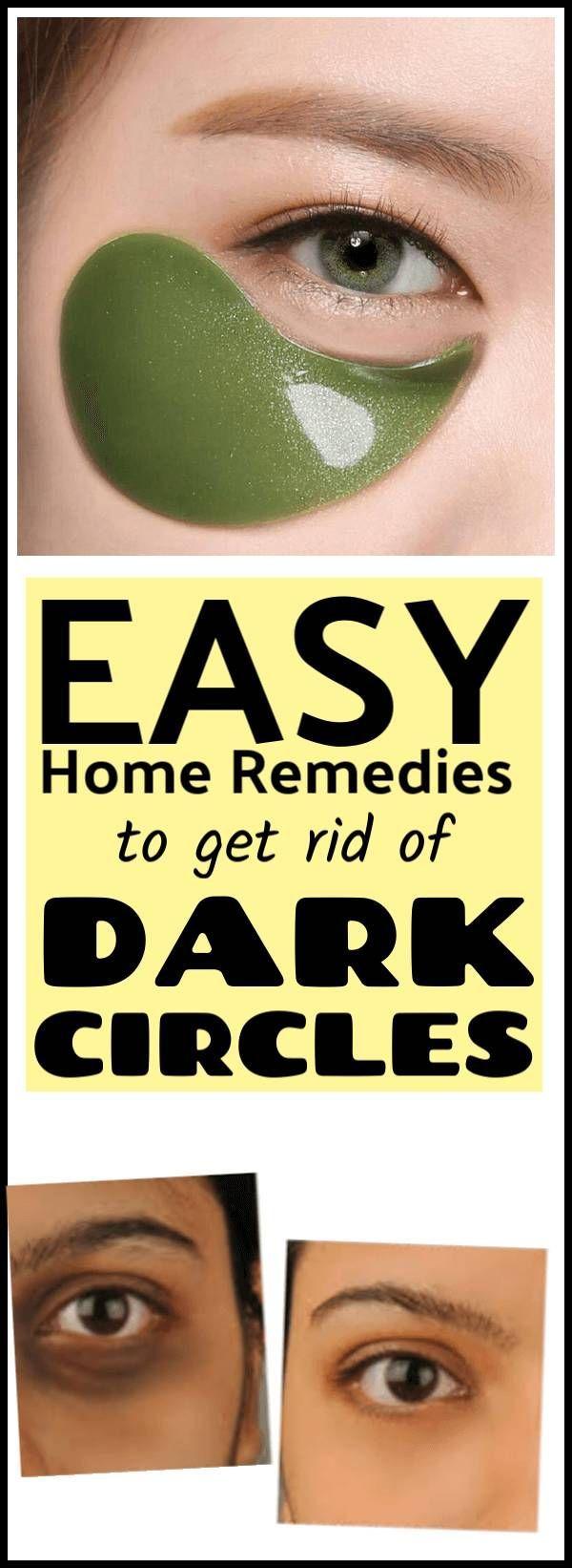 How To Remove Dark Circles Naturally At Home Remove dark