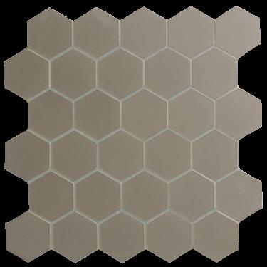 Grey Hexagon Mosaic Floor Wall Floor Tiles Fired Earth