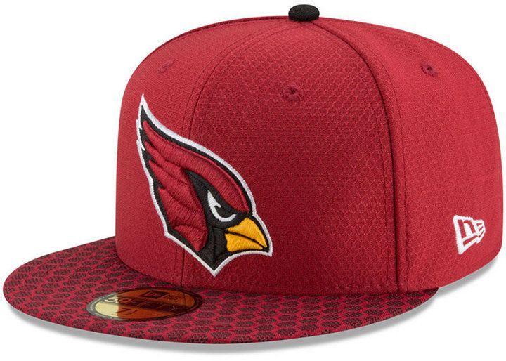 5caf39a8 New Era Arizona Cardinals Sideline 59FIFTY Cap | Products | Baseball ...