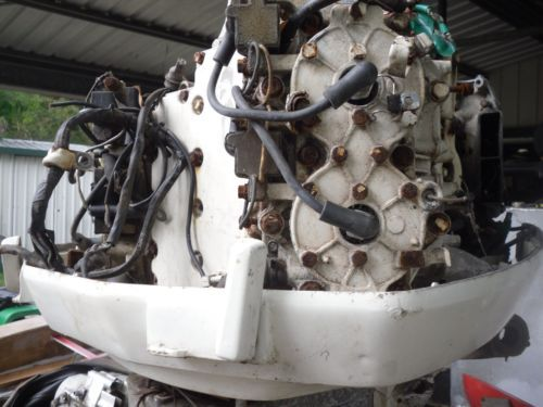 Johnson 115 hp outboard motor parts sold продано | Second hand