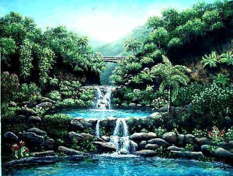 7 Sacred Pools On The Road To Hana Trip To Maui Places To Travel Places To Visit