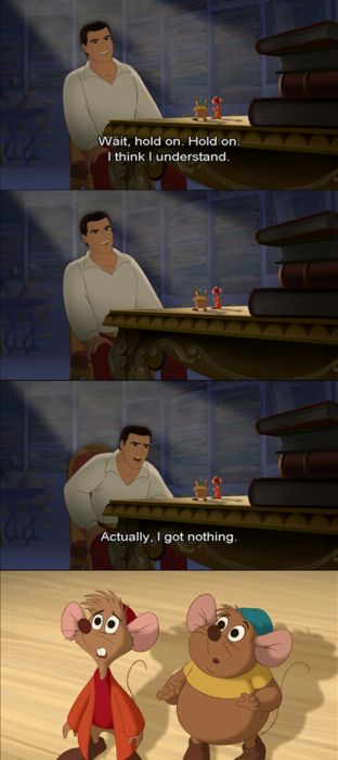 From Disney S Cinderella Iii A Twist In Time Cinderella Funny Disney Funny Quotes Disney