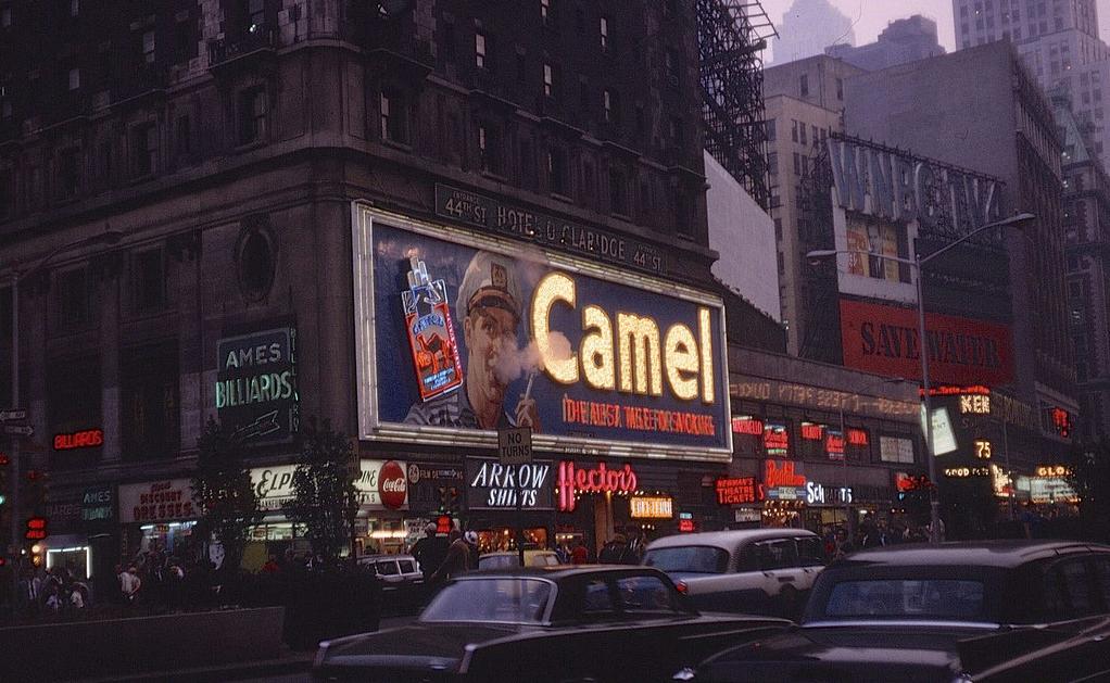 Hotel Claridge 7th Avenue 44th Street New York 1965 Vintage New York Nyc Times Square New York Street