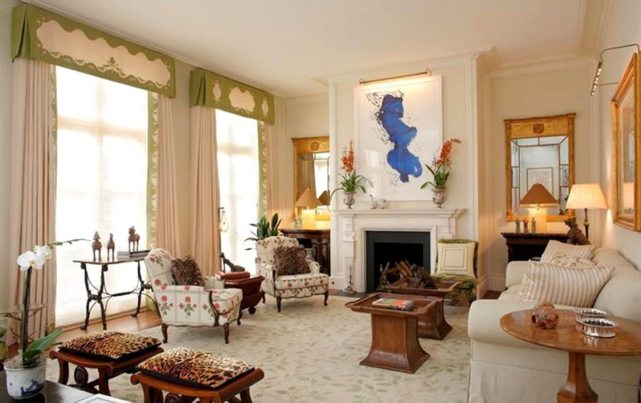 Exceptional Contemporary Classic Living Room Interior Design Of Pacific Heights House  By Arthur Brown Jr. San