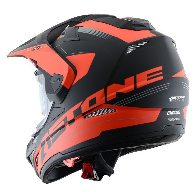 0c92c645286 Casco Astone CROSS TOURER GRAPHIC EXCLUSIVE ADVENTURE Motocross Helmets