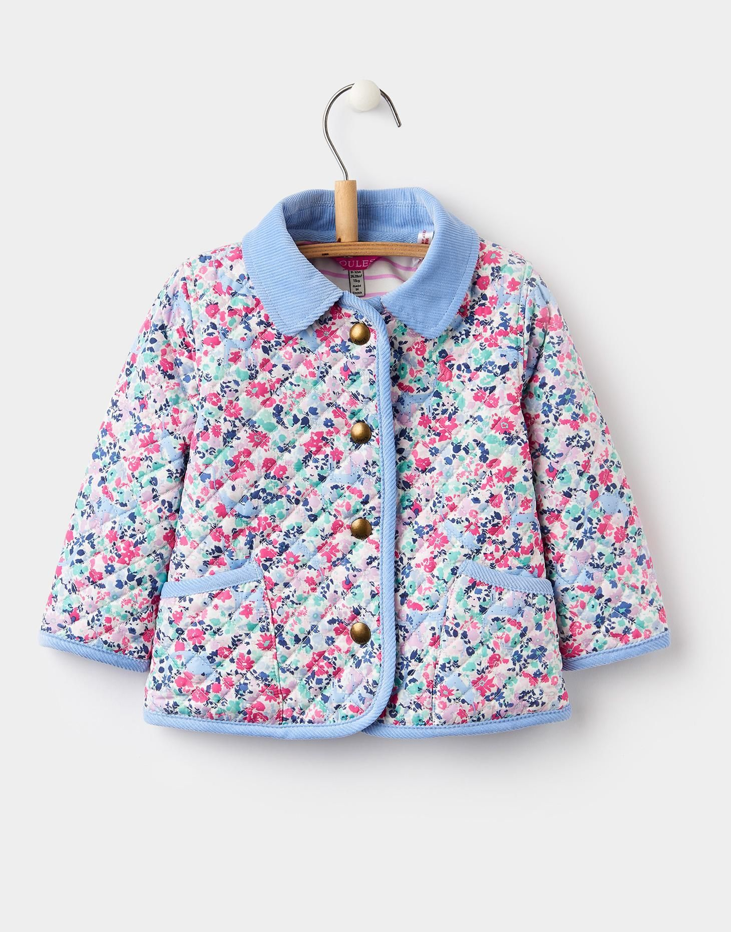 772761368 Mabel Kitty Ditsy Quilted Jacket