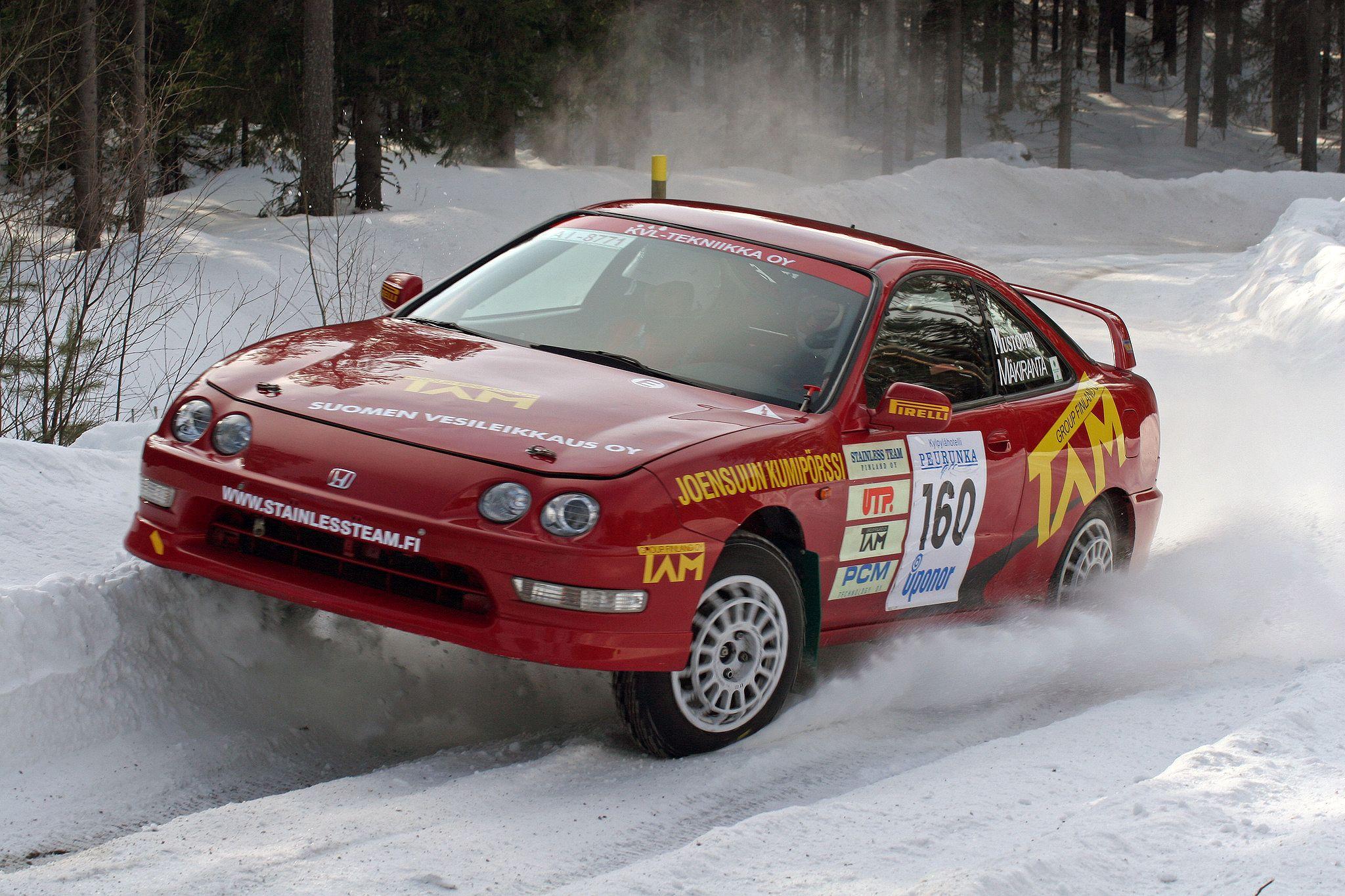 Honda Integra Type-R Rally Car | Classic Cars | Pinterest | Rally ...