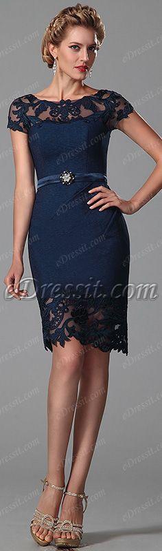 Elegant mother of the bride dress! #edressit #short_dress #fashion