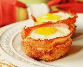 Bacon and Egg Cup