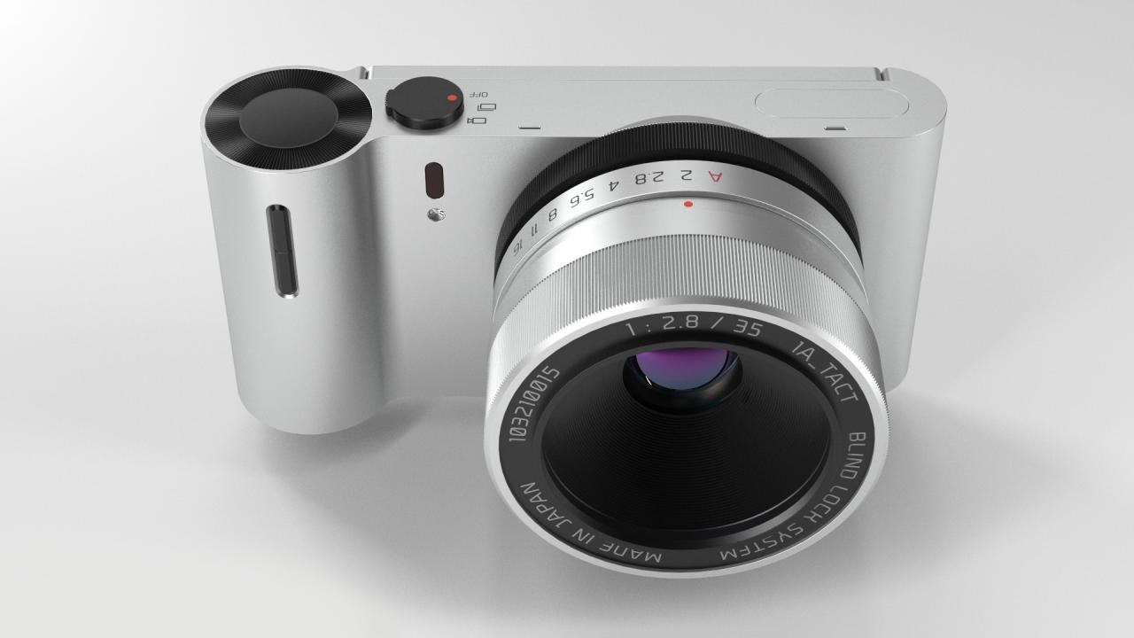 Camera concept by Tim Zarki