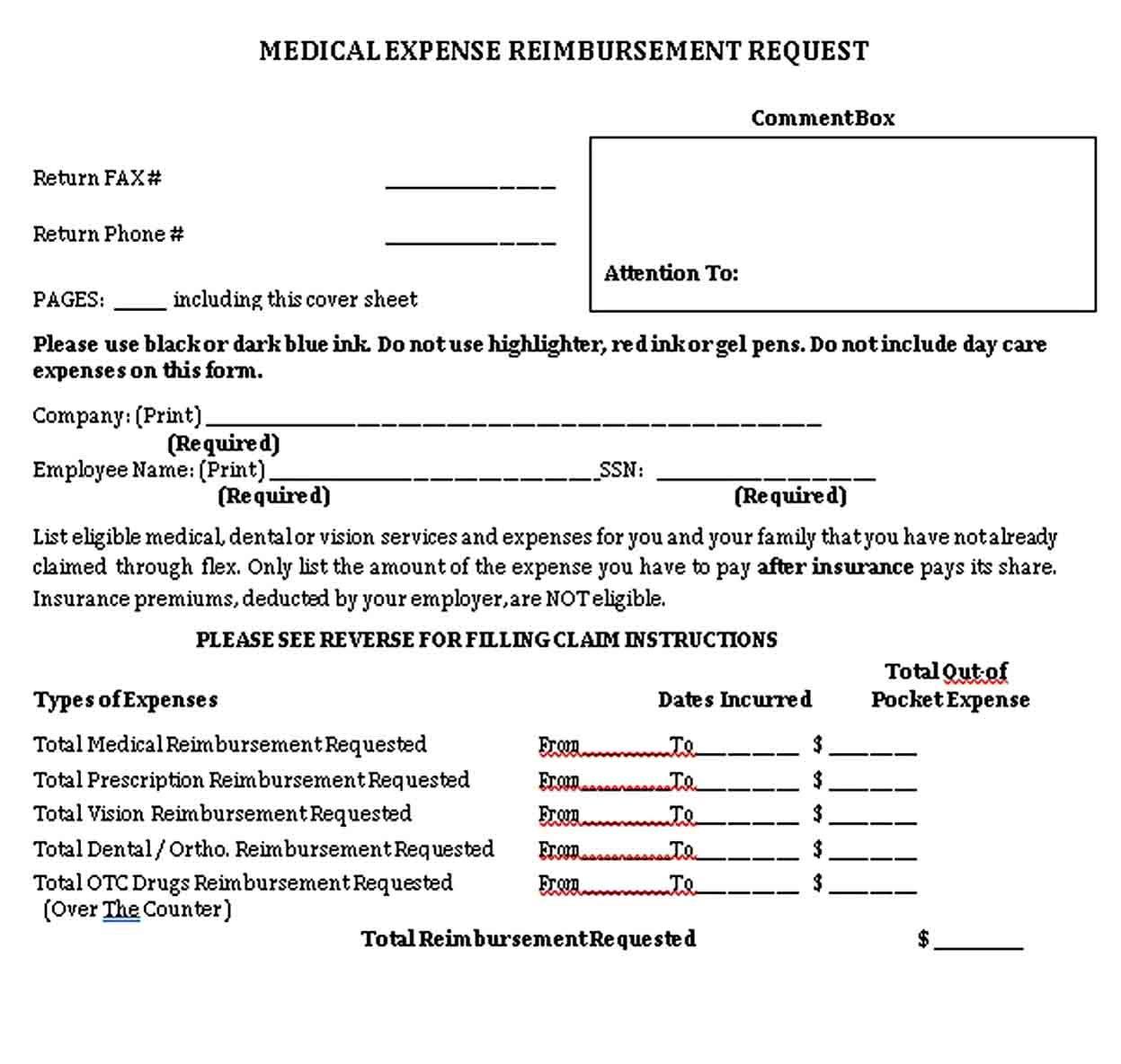Sample Medical Receipt Receipt Template Medical Words Medical