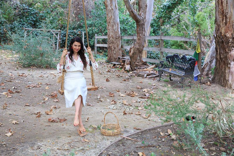 Shiva Rose Let Us Into Her Garden, And We Left More Inspired Than Ever