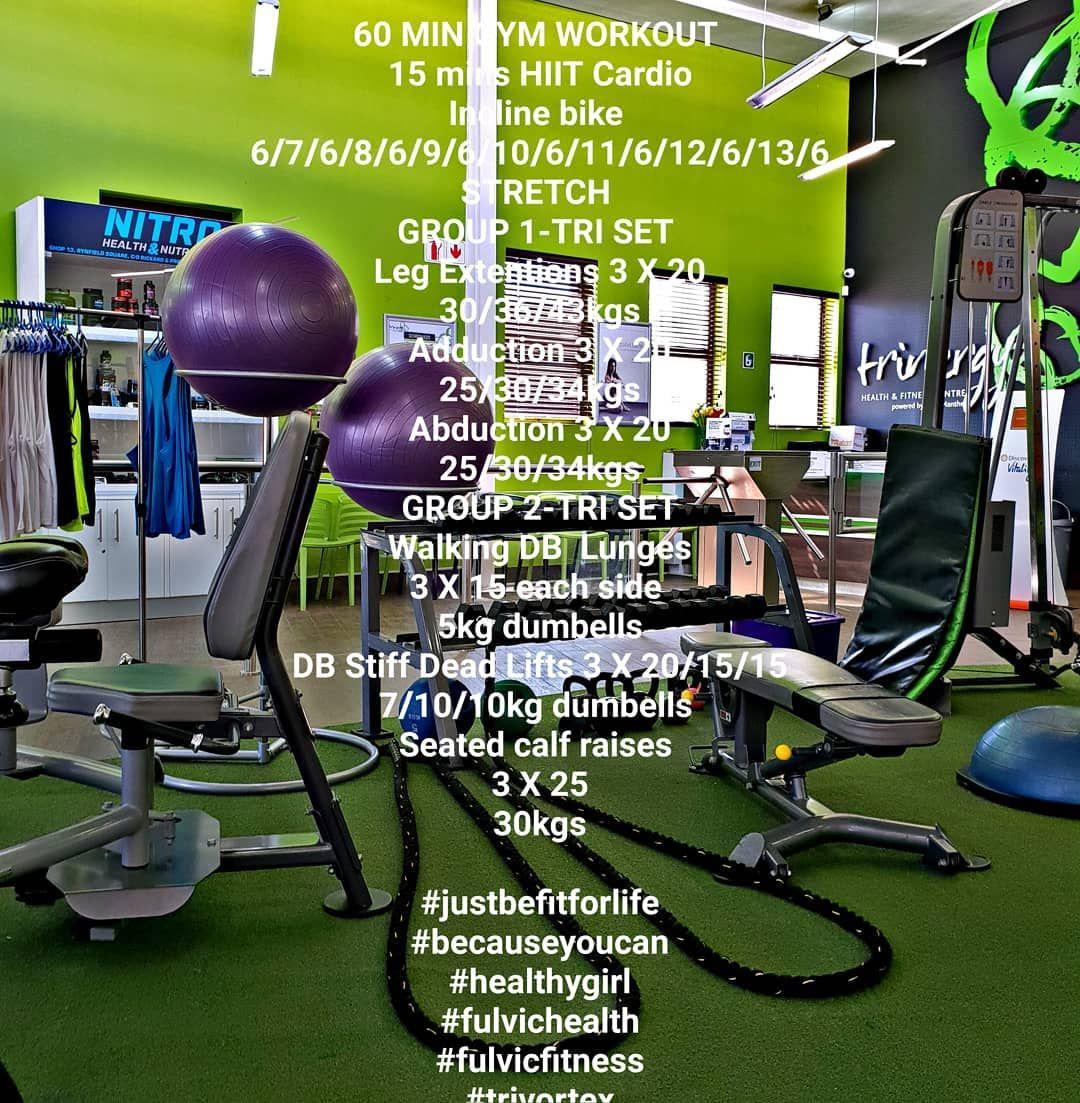 Another amazing workout 60 min gym workout 15 mins