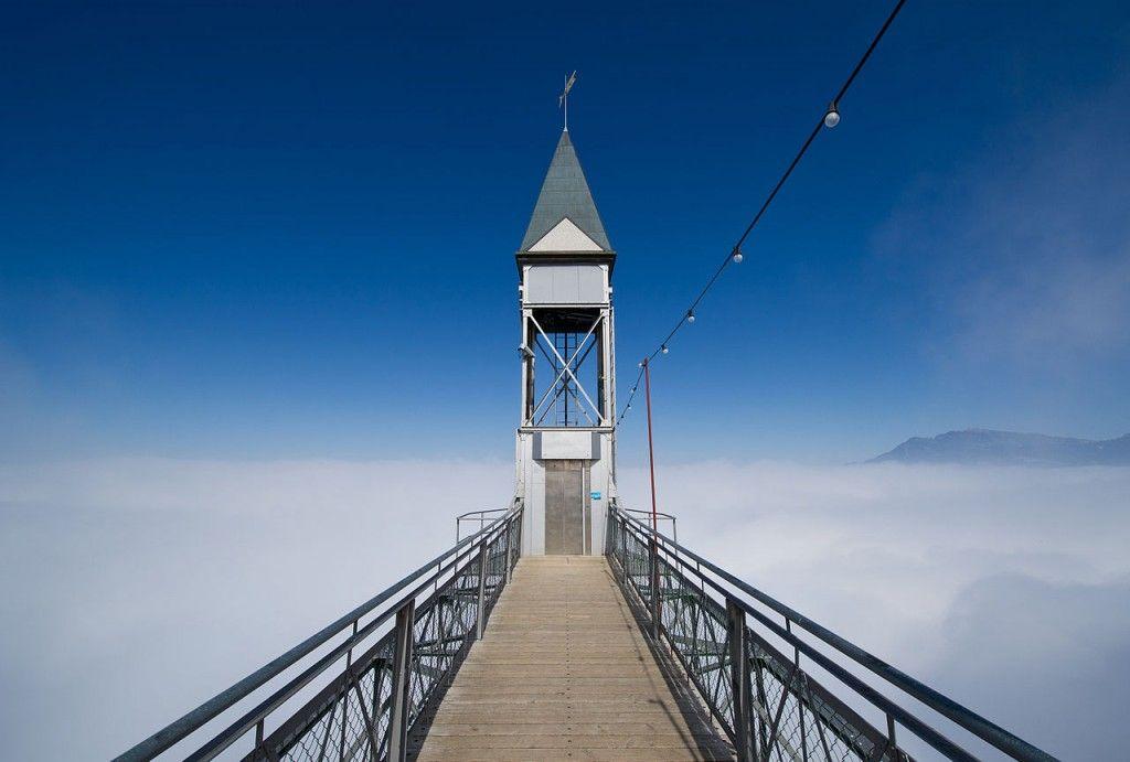 The Hammetschwand Lift, Switzerland a beautiful elevator