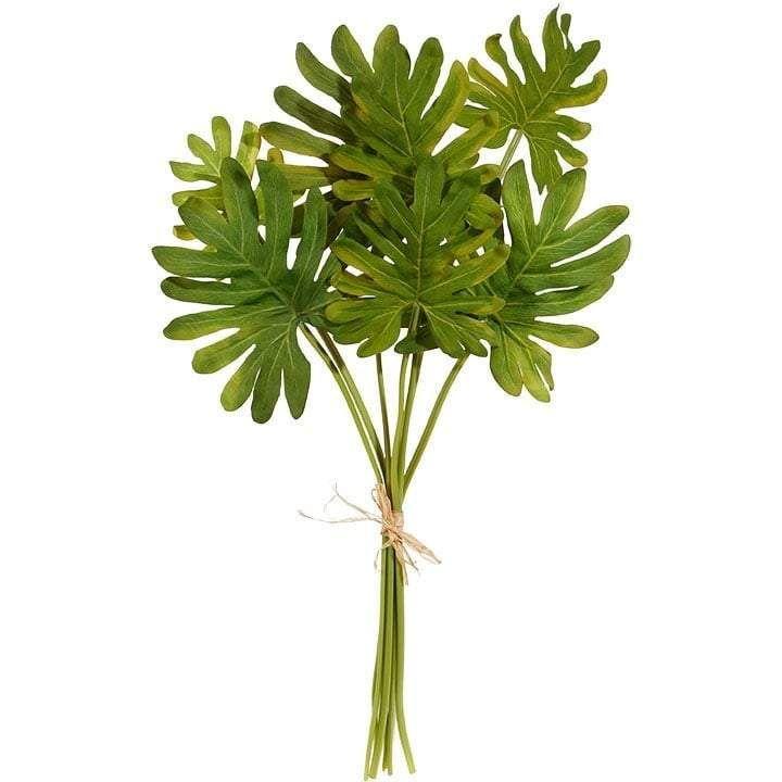 RAZ Tropical Leaf Bundle Bundle of 7 Made of Polyester Measures 25