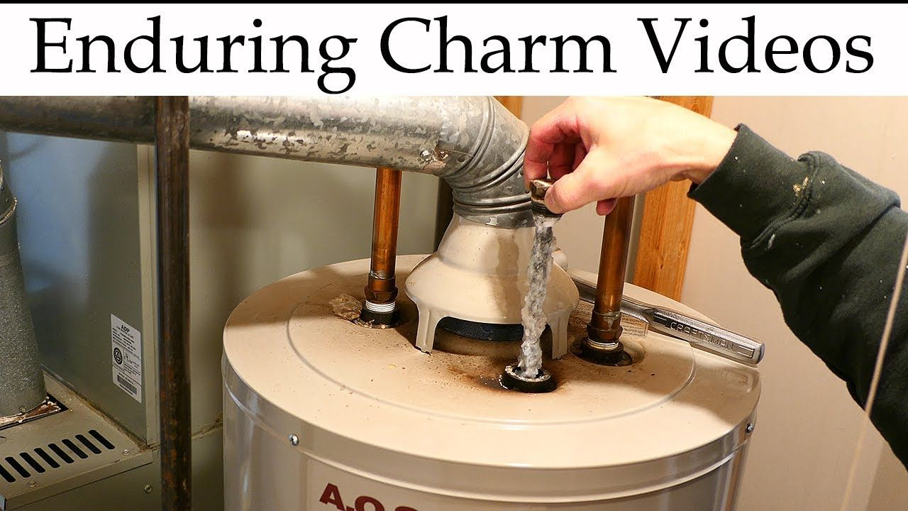 Water Heater Maintenance Anode Rod Replacement Youtube Water Heater Maintenance Water Heater Anode Rods