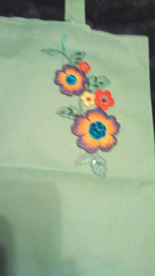 Midori Fields Tote Bag by Ellasmysticalgifts on Etsy, $11.00